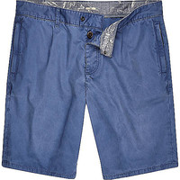 River Island MensBlue Holloway Road resort shorts