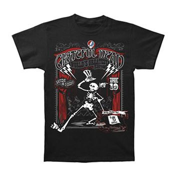 Grateful Dead Men's  Show Time T-shirt Black Rockabilia