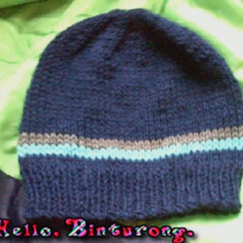 Two Striped Men's Beanie