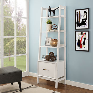 Crosley Furniture Landon Small Etagere In White Cf1109 Wh | Bellacor