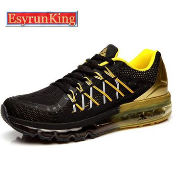 2016 EsyrunKing Men's Running Shoes For Women Outdoor Sport Sneakers Male Breathable A