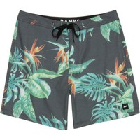 BANKS Island Time Board Short - Men's Dirty Black,