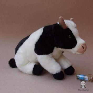 Cow Stuffed Animal Plush Toy 10""