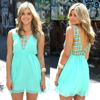 Flashback Dress - Turquoise - $55.00 : Teal & Tala, Online Clothing Store