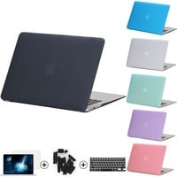 4in1 Hard Crystal Matte Case Cover Sleeve For MacBook Air 11 A1465 Air 13 inch A1466 Pro 13 15 A1278 Retina 13 15 A1502 Touchbar
