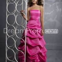 US $148.19 Free Shipping Boutique Satin Long Coral Ball Prom Dresses