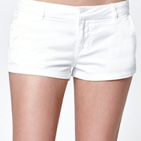 Bullhead Denim Co. White Chino Shorts at PacSun.com