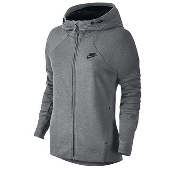 Nike Tech Fleece Full Zip Hoodie - Women's at Lady Foot Locker