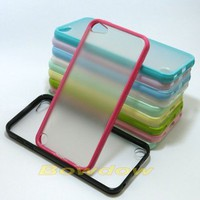 New TPU Bumper Clear Matte back Case cover for Apple ipod touch 5 5th 6 6th