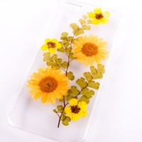 Phone Cases for Iphone 5/5s Iphone 6 Case Iphone 6 Plus Pressed Flowers (case for iPhone 6plus)