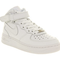 Nike Af1 Mid (g) White - Hers trainers