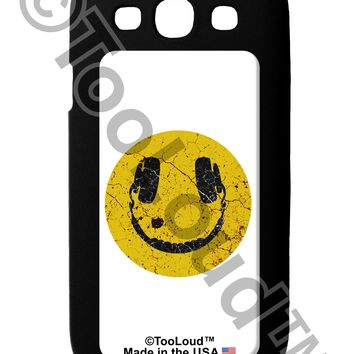 EDM Smiley Face Galaxy S3 Case  by TooLoud