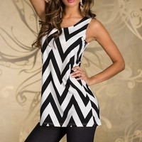 Striped sleeveless T-shirt bottoming shirt JCFG