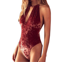 One Piece Push Up Padded Bikini Swimsuit Swimwear Bathing Suit Monokini