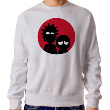 Rick And Morty 234 Sweater Man and Sweater Woman