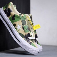 Kuyou Gx29826 Converse One Star Suede Ox 165027c