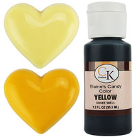 Yellow Candy Color