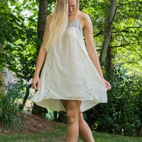 The One That Got Away Dress, Cream