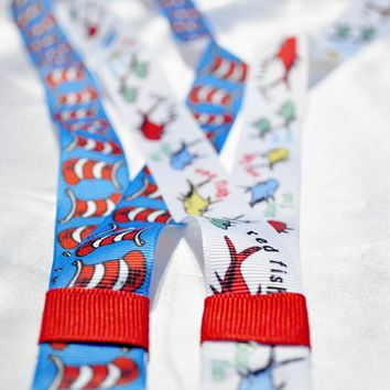 Dr Seuss, Cat in the Hat, lanyard