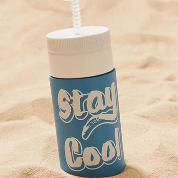 CREY4XG Stay Cool Retro Water Bottle | Urban Outfitters