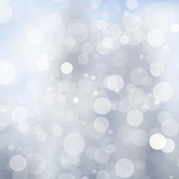 Printed Silver Bokeh Backdrop 5x6 - LCTC1441 - LAST CALL
