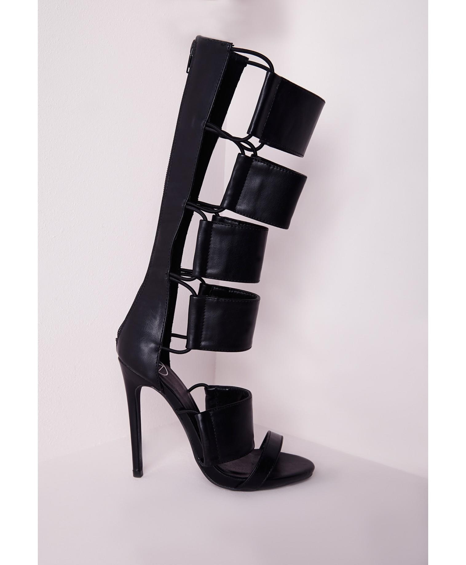 c40f46ce650 Missguided - Elastic Detail Gladiator from MISSGUIDED