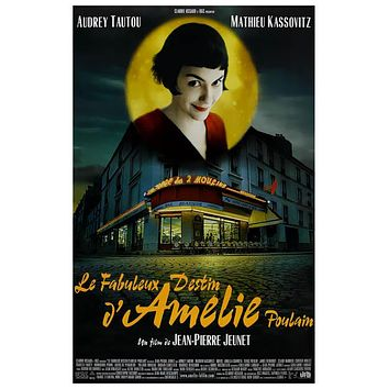Amelie Audrey Tautou Movie Poster 11x17