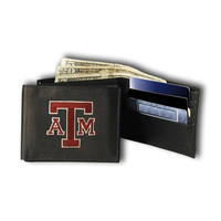 Texas A&M Aggies NCAA Embroidered Billfold Wallet