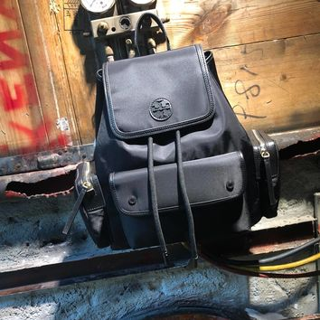 HCXX 19June 604 Tory Burch TB Military backpack 29-35-14 black