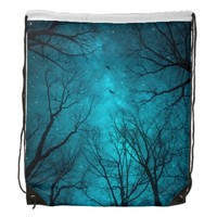 Stars Can't Shine Without Darkness •Drawstring Bag