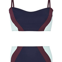 Flagpole Swim - Perry color-block bikini