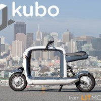 Meet kubo: an electric scooter to carry all your stuff!