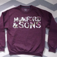 Custom Mumford and Sons Crewneck Sweatshirt