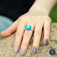 Solitaire Mood Ring