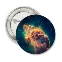 Galaxy pinback button Outer Space badge Sci-Fi magnet Science patch Astronomy pins Universe lapel pin gift for astronomer scientist nerd