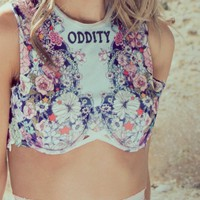 Oddity ★ Boyd Crop Bra