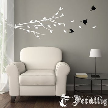 Wall Decal - Group of Flying Birds - Birds in Flight