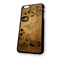 Walt Disney World (Snow White Ariel Little Mermaid Beauty And The Beast Mickey Mouse) iPhone 6 Plus case
