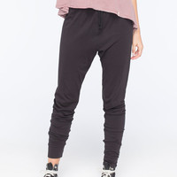 Volcom Lived In Womens Jogger Pants Black  In Sizes