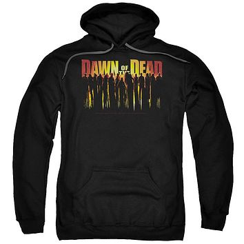 Dawn Of The Dead - Walking Dead Adult Pull Over Hoodie Officially Licensed Apparel