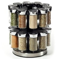 Kamenstein 20 Jar Rotating Spice Rack