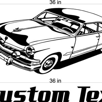 Road Master Buick Car Wall Decals Stickers Man Cave Boys Room Decor 3 FEET Wide