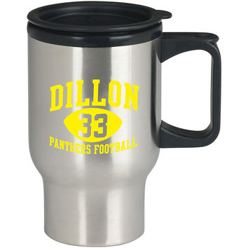 Dillon Panthers 33 blue For Stainless Travel Mug *
