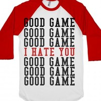 White/Red T-Shirt | Funny Gifts For Athletes