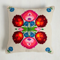 Boho Sunny and Square Pillow by Karma Living from ModCloth