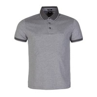 Boss by Hugo Boss Grey Melange Prout Polo Shirt