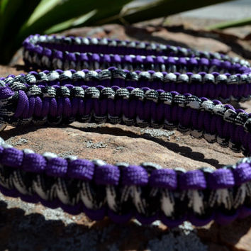 Macrame slip lead, an adjustable dog collar and leash in one