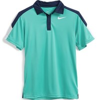 Boy's Nike 'Team Court' Dri-FIT Tennis Polo,