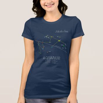 Constellation AQUARIUS unique, superb T-Shirt