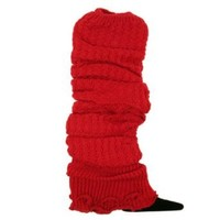 TrendsBlue Trendy Soft Knit Leg Warmers - Different Colors Available